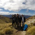 Rock-Climbing-Queenstown-Remarkables-Alpine-Boys on the top kepler