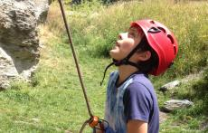 Rock-Climbing-Queenstown-Remarkables-Alpine-Boy Belaying